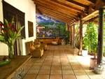 "Beautiful ""patio"" corridor in  spanish colonial arquitecture style boutique hotel in my country El Salvador"