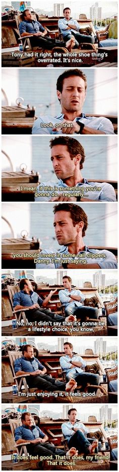 There is no possible universe in which this is NOT married behavior.  # MCDANNO # 2.18