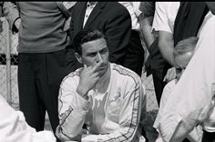 News Photo : Indianapolis 500. Lotus driver Jim Clark.