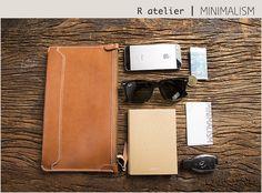 $80 | Handmade Leather Clutch Bag | Versatile Chic Zip Top Clutch #leatherclutch #clutchbag #fashionaccessories #gifts
