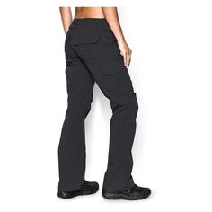 The Under Armour Tactical Patrol Pants are specifically designed to stand up to the rigors of field work without ripping, tearing or falling apart when you need them most. The ultra-durable polyester ripstop material prevents tears and abrasions, while maintaining comfort and long-lasting durability. Under Armour's Storm fabrication is water-resistant, but promotes breathability to keep you cool when on the move. These pants feature a reinforced crotch for a full range of motion, so there...