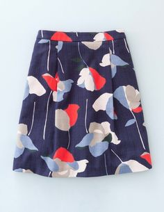 Kate Skirt WG651 A-line & Full at Boden