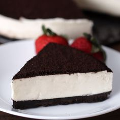 No-Bake Cookies and Cream Cheesecake - Еда - Oreo Ideas Cookies And Cream Cheesecake, Cheesecake Recipes, Dessert Recipes, Oreo Desserts, Cream Cookies, Cook Desserts, Cheesecake Pops, Nutella Cheesecake, Quick Dessert