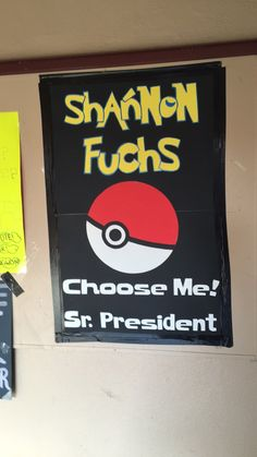 Pokemon election poster