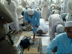 If they are praying, what's your excuse? No excuse for Salaah