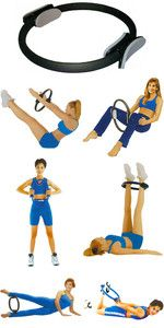 Exercices avec anneau pilates
