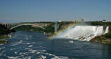 Niagara Falls.....We walked across the bridge to Canada!!