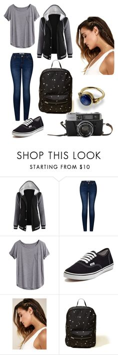 """""""Art School"""" by littlewolf-polyvore on Polyvore featuring 2LUV, Vans, LULUS and Hollister Co."""