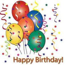 free birthday balloon art birthday clip art images birthday stock rh pinterest com free clip art for birthday cakes free clip art for birthday sister in law
