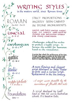 Calligraphy For Beginners, Calligraphy Tutorial, Calligraphy Words, Hand Lettering Tutorial, How To Write Calligraphy, Calligraphy Handwriting, History Of Calligraphy, Penmanship, Caligraphy