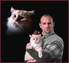 This guy with a cat in a hat.