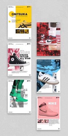 Sneakers Poster Design Series | ZEKA DESIGN
