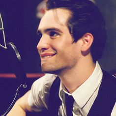 Brendon Urie cause @Bekah Carroll Brown Thinks he's cute :) so do i!