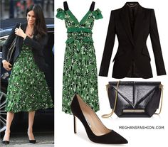 21 Apr 2018 - What Meghan Markle wore to Invictus Games Sydney reception in London. Click for outfit details
