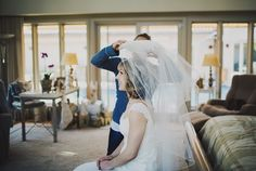 wedding veil  Ariel Renae Photography