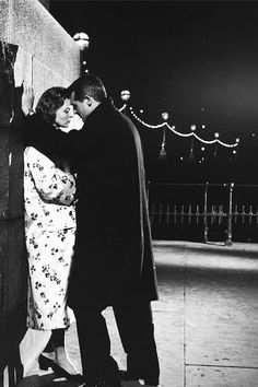 "Cary Grant and Ingrid Bergman in ""Indiscreet"", 1958."