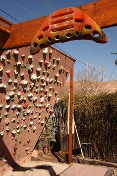 Noah Bigwood on How to Build a Sweet Climbing Wall :: via Steph Davis