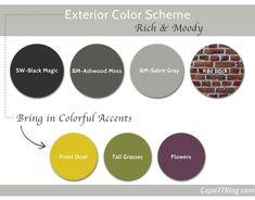 Rich & Moody House Exterior Color Scheme | Cape27Blog.com