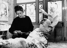 Dame Elisabeth Frink 1930 - 1993.  English Sculptor and Printmaker.  www.jorgelewinski.com