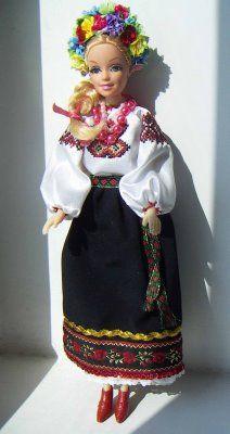 Barbie Doll in Ukrainian Outfit  #Barbie #Ukraine #Ukrainian