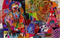 "HOMENAJE A PARÍS.  Jose Manuel Merello.- ""El niño de París."" (81 x 130 cm)   ART MODERNE et  CONTEMPORAIN. http://www.merello.com"