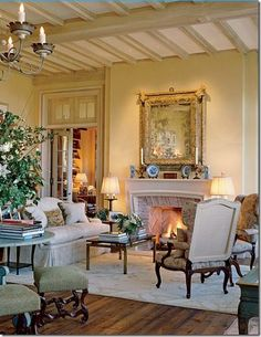 Another stunning French room by David Easton