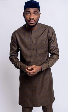 Groom And Groomsmen Wedding Suit Styles And Attire Ideas 2018 African Shirts For Men, African Attire For Men, African Clothing For Men, African Wear, African Style, African Dress, Nigerian Men Fashion, Latest African Fashion Dresses, African Men Fashion
