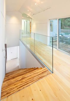 Transparence modern feel Renovated House Inspiring An Ever Fresh Feel in Bay Village, Ohio