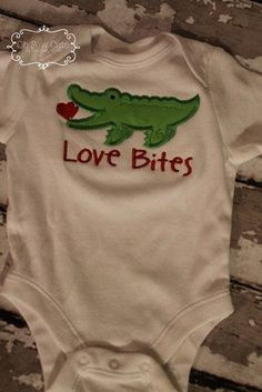 Love bites Valentines shirt by OhSewCutebyMP on Etsy, $20.00