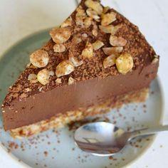 Avocado chocolade taart