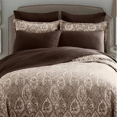 Free Shipping when you buy Modern Living Sienna Duvet Cover Collection at Wayfair - Great Deals on all Bed  and  Bath products with the best selection to choose from!