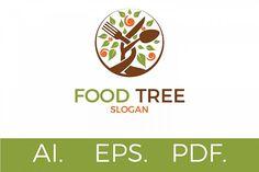 Food Tree Logo from FontBundles.net