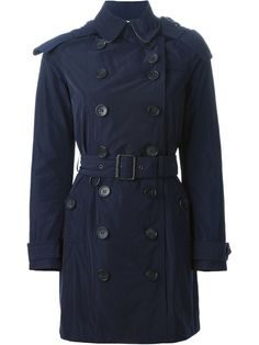 BURBERRY BRIT BURBERRY - 'BALMORAL' TRENCH COAT . #burberrybrit #cloth #coat