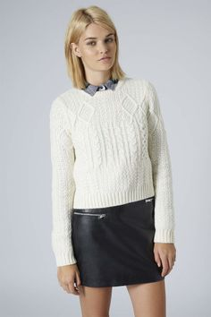 Shrunken Cable Sweater, How would you style this? http://keep.com/shrunken-cable-sweater-by-dria/k/1ONTH2ABHr/