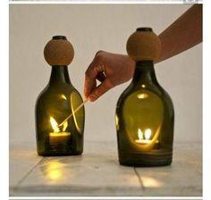 Tagliare Bottiglia Vetro.24 Fantastiche Immagini Su Bottiglie Tagliate Nel 2019