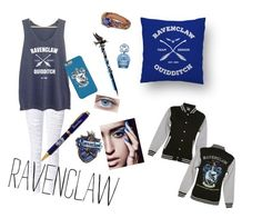 """""""Ravenclaw"""" by paytonhudson ❤ liked on Polyvore featuring Marc Jacobs"""