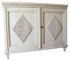 Gustavian cabinet from the 17th century.