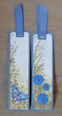 Book marks using Touch of Nature, Autumn Days, Pocket Silhouettes