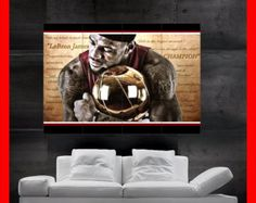 LeBron James Miami Heat King James Poster Wall Art by EvoPosters