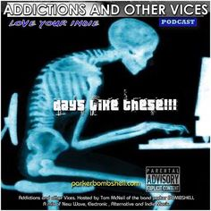 #today Addictions 196 #addictionspodcast #radioshow #rock #alternative #synthpop #indiepop #indierock #classicrock #workinglife #bombshellradio #nowplaying #radio #music #throwback #tuesdays #dj  Addictions Podcast 196  parker BOMBSHELL #skinandbones #skeleton #deskjob #9to5 #mixcloud Podcast 196  ADDICTIONS 196 dlt Its been one crazy week this week. The Cat is whistling inside and the wind is whistling outside. Monday is now Tuesday getting back into the swing of things. Busy busy busy. The…