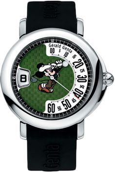I've always wanted one of these Gerald Genta Mickey Mouse retro golf watches