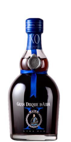 Gran Duque De Alba XO - Brandy de Jerez. Featured in Flaviar's Spanish Brandy Inquisition tasting pack.