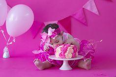 Cake Smash 1 Year Birthday Melbourne, Australia Renee V Photography