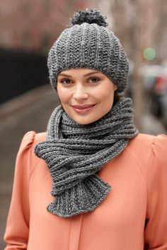 Quite The Pair Hat And Scarf Set
