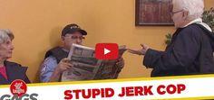 Vídeo Divertido - Polícia Idiota Rouba Acento A Idosa  NR Entertain | O Melhor Do Entretenimento