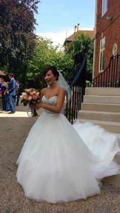 Maggie sottero esme bride dress wedding