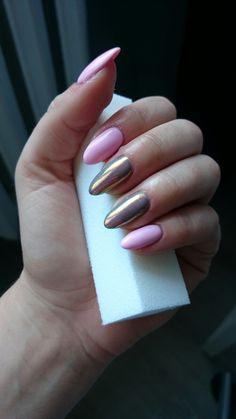 paznokcie hybrydowe, wykonane za pomocą marki NeoNail