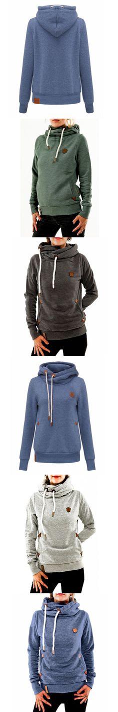 Winter Autumn 2016 Women Hoodies Female Warm Hooded Sweatshirt Long Sleeve Pockets Casual Loose Pullovers Plus Size S-5XL