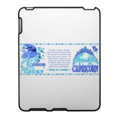 Valxart 2012 2072 1952 WaterDragon Capricorn iPad Cases