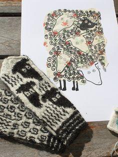 Ravelry: Sheep on Baldersnäs pattern by Lena Bergsman